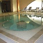 vasca idromassaggio area benessere
