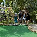 MINI GOLF for all to enjoy
