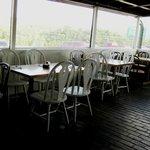 Enclosed Porch Dining Area