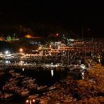 Castellammare del Golfo, panorama notturno