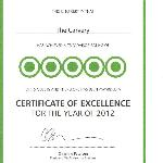 Certificate of excellance