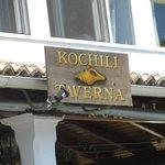 The Kochili Taverna sign