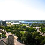 La vue de notre balcon