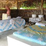 Couples Massage hut by the sea