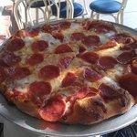 Small Pepperoni Pizza at Zia Pizzeria