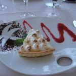 dessert: tarte meringuée au citron