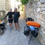 cyclo touristes en balade