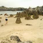 Formaciones rocosas playa de Toró