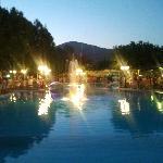 Griechischer Abend am Poolbereich