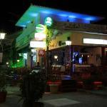 The Casablanca Bar at night !