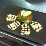 Grilled Halloumi.