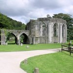 part of the original Abbey in lovely surroundings