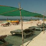 PN's Place shack at Mandrem Beach