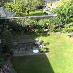 Rear Garden (through small window)
