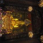 The two sacerd Image of Buddhas in Phra Ubosot