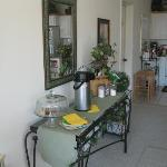 Coffee and snack bar for guests!