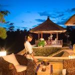 Villa Santai Ubud Outside Sitting Area Near Bar
