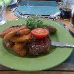 Awesome Steak and Chips
