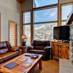 Sample Living Room with View of Ski Area