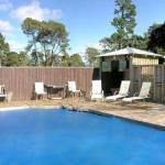 Pool and Entertainment area at Mokoia Downs