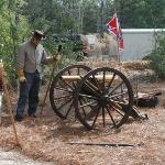 Civil War Living History events are held on the museum's historic grounds yearly.