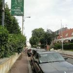 la rue pour se garer
