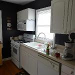 Very nice kitchen in the cottage