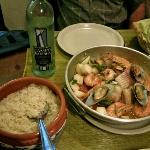 cataplana and good wine