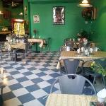 Disney Green Diner theme