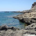 Scorcio spiaggia Falassarna
