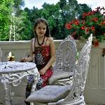 Charming garden furniture