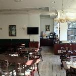 Hotel restaurant/breakfast area