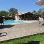 Pool and snack bar