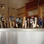Not all of these on tap,but an impressive collection.