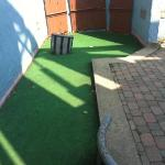 typical holes at the mini golf