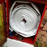 impianto antincendio incompleto manca la lancia per dirigere l'acqua