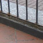 our balcony rails
