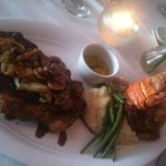 Surf and turf - pricy but outstanding