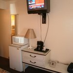 TV, Mini-Fridge, Microwave