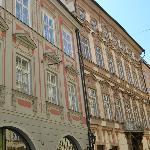 Edificios del frente del hotel