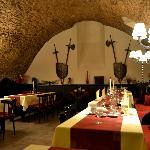 Restaurant en el sótano del hotel