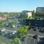 View from 6th floor of Hamptom Hotel Garden Grove