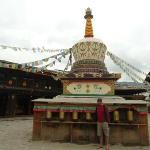 White Stupa in Old Town Shangri-la