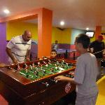 Game Room, Pool table, ping pong, air hockey, foos ball table