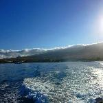 Leaving Lahaina in the morning
