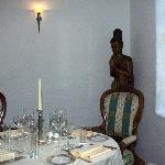 Cozy setting in Restaurant Merlot