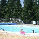 L'espace piscine...