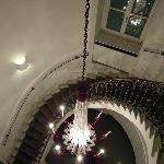 踊り場階段からの眺め