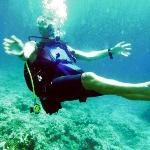 Skiathos Dolphin Diving 2012, Sting Ray