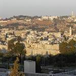 View of Jerusalem from Notre Dame
